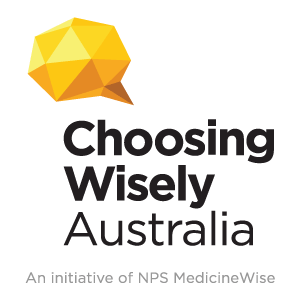 Choosing Wisely Australia logo