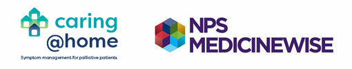 caring@home and NPS MedicineWise logos