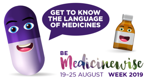 Be Medicinewise Week 2019