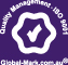 Logo stating that NPS are ISO-9001 certified by Global-Mark
